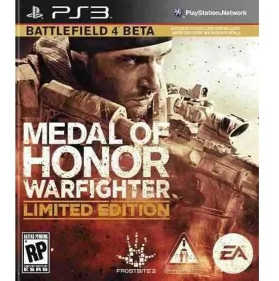 Medal Of Honor Warfighter Limited Edition Ps3 ! Original