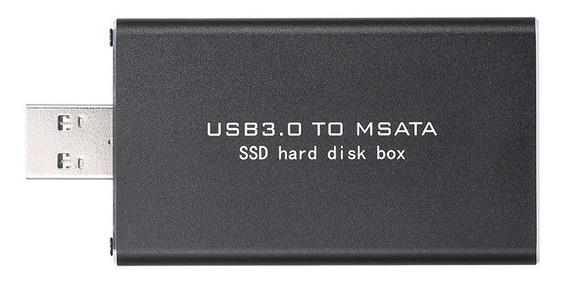 Usb3.0 Para Msata Ssd Recinto Caixa De Disco Rgido Externo