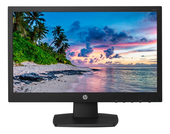 "Monitor HP V194 led 18.5"" negro 110V/220V"