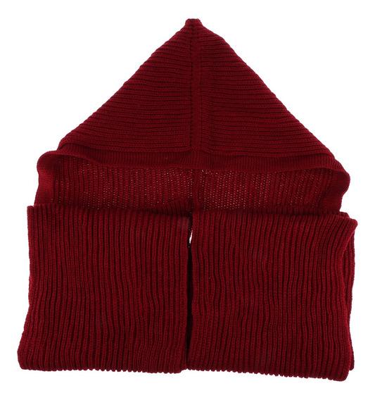 Moda Bufanda Mujer Invierno Bufandas Con Gorra Pañoleta