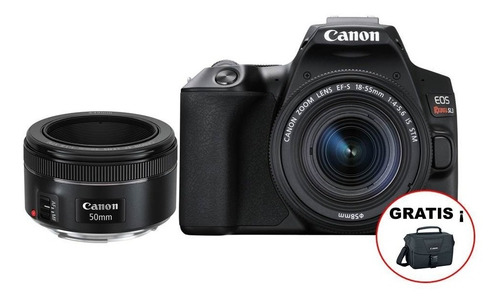 Camara Canon Eos Rebel Sl3 (combo 53) Ef S18-55 Is+ef 50mm