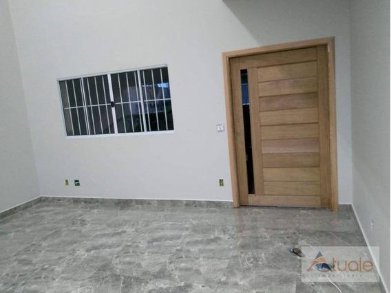 Casa Com 3 Dormitórios À Venda, 237 M² - Parque Bom Retiro - Paulínia/sp - Ca6620