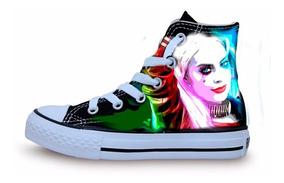 Tenís Converse Personalizados Harley Quinn