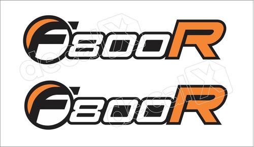 Emblema Adesivo Tanque Moto Bmw F800r Par Bwf800r01