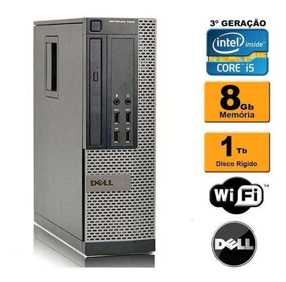 Cpu Dell Mini Optiplex 7010 Sff I5 3ª Ger 8gb 1tb Wi-fi