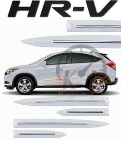 Friso Lateral Original Honda Hr-v Hrv Branco Taffeta