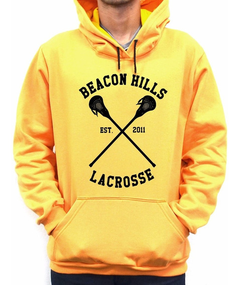 Moletom Canguru Blusa Teen Wolf Beacon Hills Lacrosse