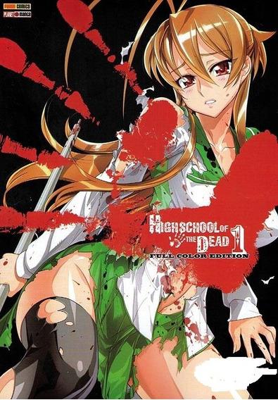 Mangá - Highschool Of The Dead #01 - Full Collor Ed.