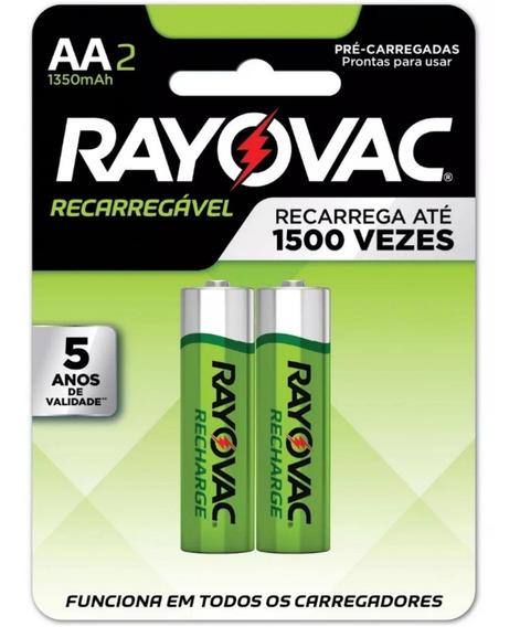 Pilha Recarregavel Rayovac Aa Igual Panasonic Original