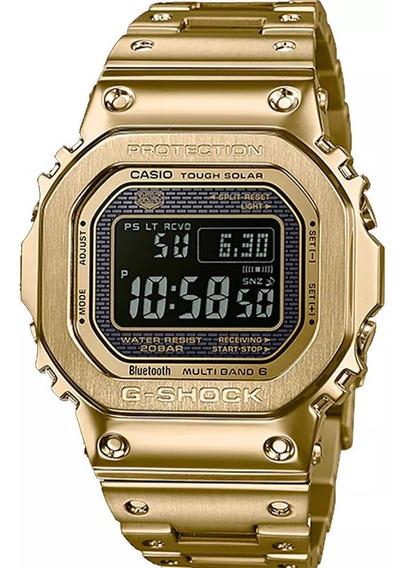 Relogio G Shock Gmw-b5000gd-9d Dourado Solar Bluetoo # Casio