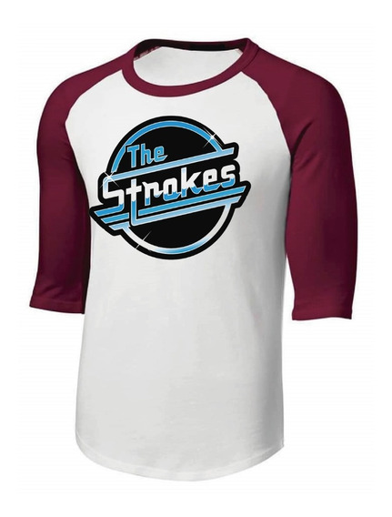 Playera The Strokes (rock Band) Para Niño, Dama O Caballero