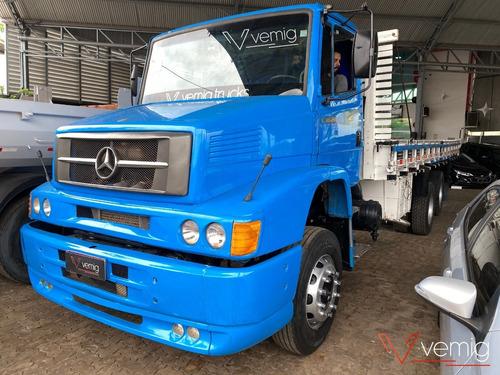 Imagem 1 de 14 de Caminhão 1620 Truck Carroceria Azul 2004
