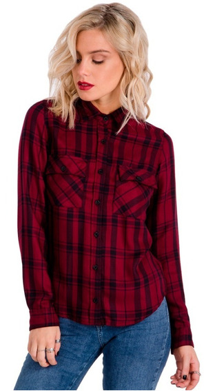 Camisa A Cuadros Locker- Kout Mujer