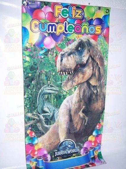Dinosaurios Lona Impresa Articulos De Fiestas
