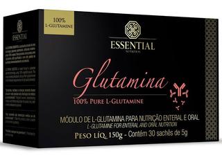 Glutamina 150g (30 Sachês De 5g) - Essential Nutrition