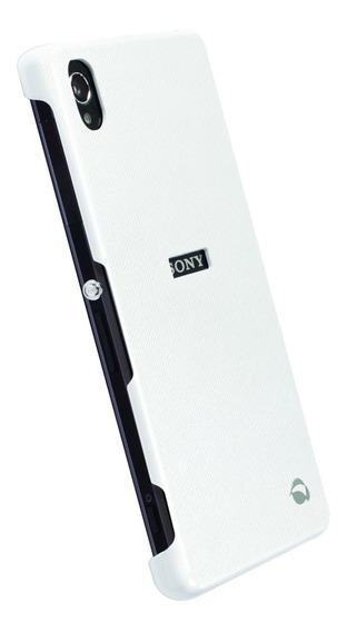 Funda Texturizada Xperia Z2 Krusell Malmo Blanco