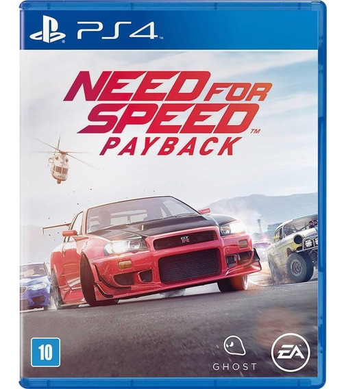 Need For Speed: Payback Br - Ps4 Mídia Física Lacrado Full
