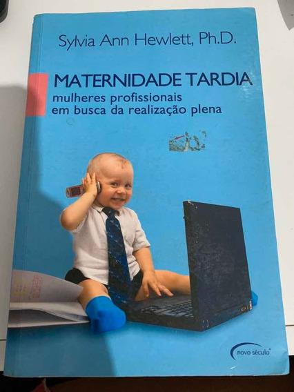 Livro Maternidade Tardia