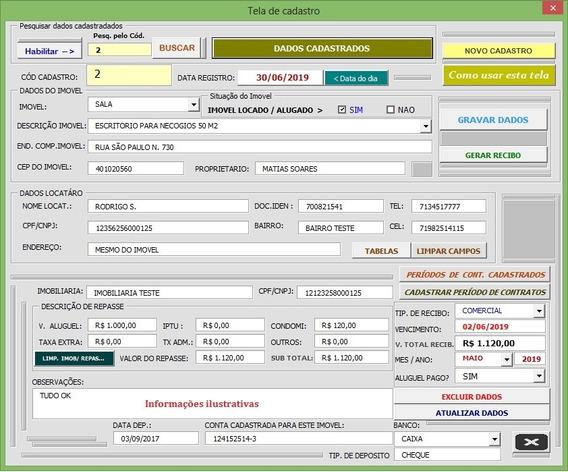 Planilha Em Excel Vba Controle De Imoveis Sem Preocupaçoes!