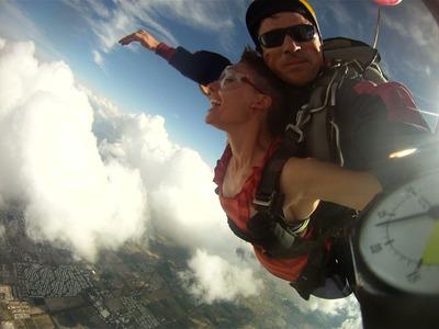 Salto Tandem En Paracaidas - Paracaidismo
