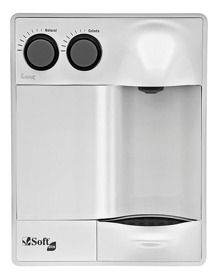 Purificador Água Refrigerado Por Compressor Soft Slim Branco