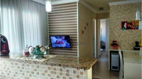 Apartamento Com 2 Dormitórios (1 Suíte) 1 Vaga E Lazer Completo - You Saúde - Ap12420