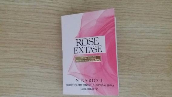 Amostra Perfume Rose Extase Nina Ricci Edt Sensuelle 1,5ml
