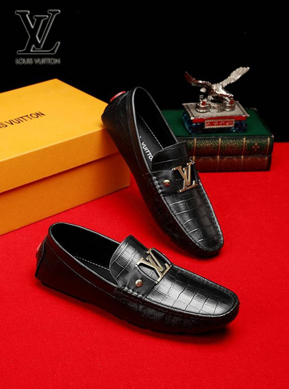 Zapatos Louis Vuitton Mocasín Cuero ( Bajo Pedido )