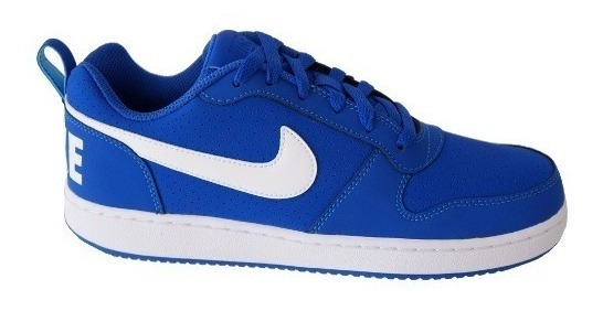 Tenis Masculino Nike Borough Low - Azul/branco