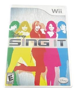 Disney Sing It Para Nintendo Wii 2008 Requiere Microfono