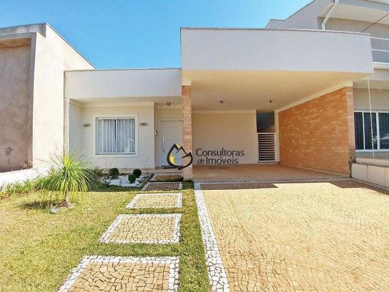 Casa Com 3 Dormitórios À Venda, 180 M² Por R$ 630.000,00 - Condomínio Campos Do Conde - Paulínia/sp - Ca0544