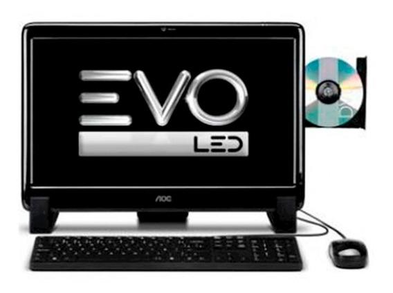 All In One Aoc 9425u-w7s Amd Dual Core Tela 18,5 2gb 500gb