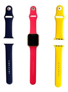 Kit 2 Pulseiras Relógio Smartwatch Champion Varias Cores