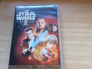 Star Wars La Amenaza Fantasma Dvd Doble Thx Episodio 1