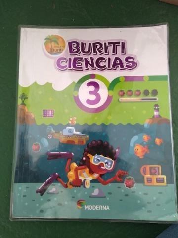 Livro Ciências Buriti 3 4ª Edição Editora Moderna