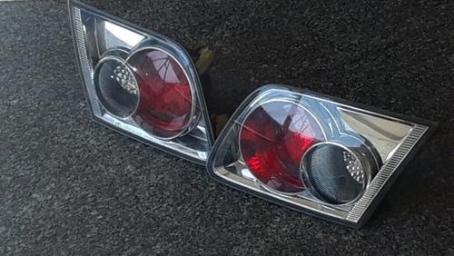 Stop Trasero De Maleta Mazda 3 Cromado 50 Verdes C/u