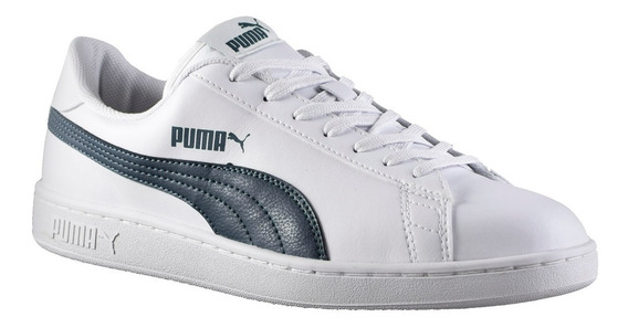 Zapatillas Puma Smash V2 L Hombre Blanco
