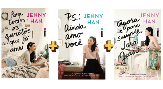 Para Todos Os Garotos Que Já Amei + 2 Livros