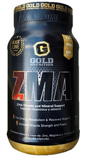 Zma Testosterone Booster 60caps Gold Nutrition