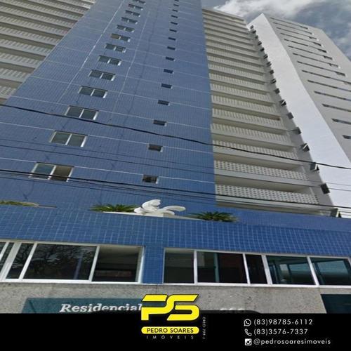 Apartamento Com 2 Dormitórios À Venda, 107 M² Por R$ 450.000 - Aeroclube - João Pessoa/pb - Ap3937
