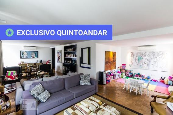Apartamento No 13º Andar Com 3 Dormitórios E 2 Garagens - Id: 892962376 - 262376