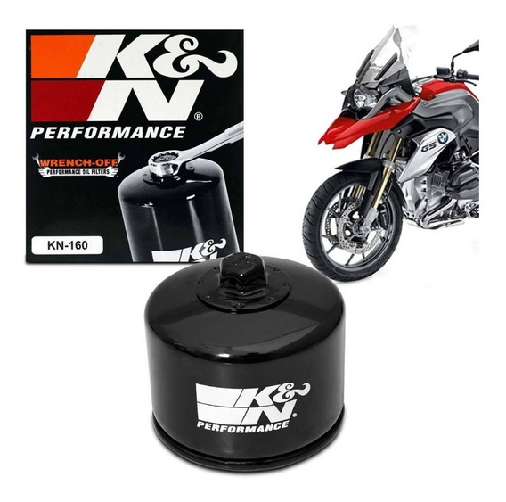 Filtro De Oleo K&n Kn Kn-160 Bmw R1200 R Gs Rs Rt Adventure