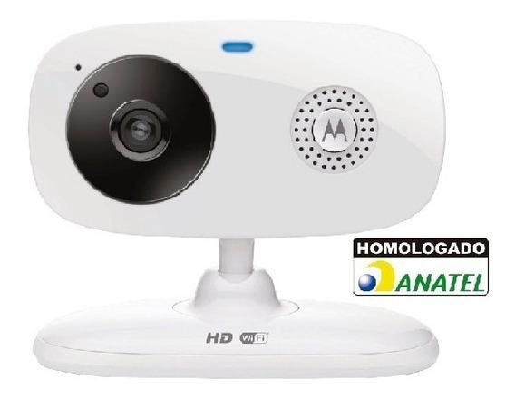 Câmera De Segurança Wi-fi Em Hd Residencial Motorola Branca