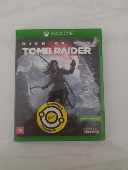 Jogo Rise Of The Tomb Raider Mídia Física Xbox One