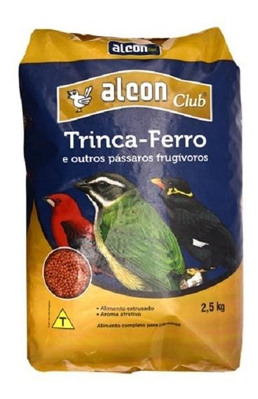 Alcon Club Trinca-ferro Ração Pássaros Frugívoros Saco 2,5kg