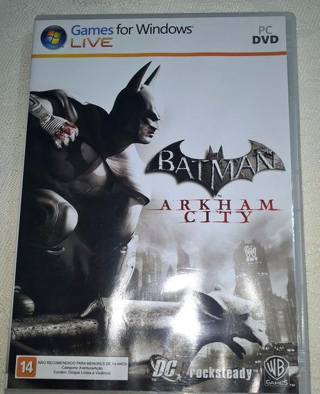 Jogo Para Pc Batman Arkhan City Original