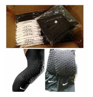 Rodilleras Baloncesto Proteccion Licra Compresion Nike