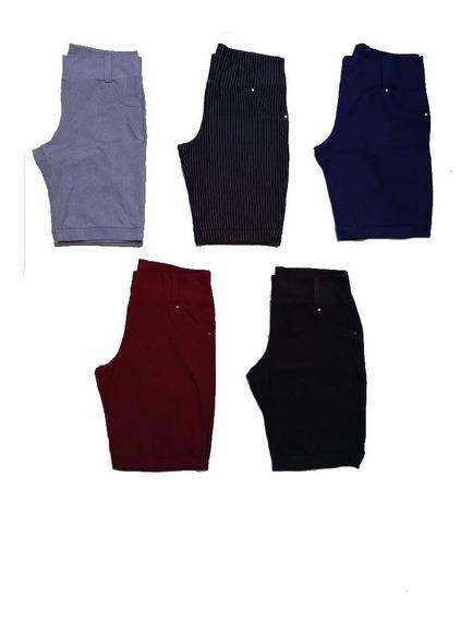 Shorts Feminino Cotom Plus Size Lançamento 44 Ao 54