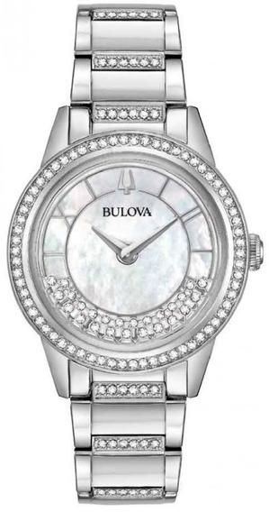 Relógio Bulova Feminino Crystal Turnstyle 96l257