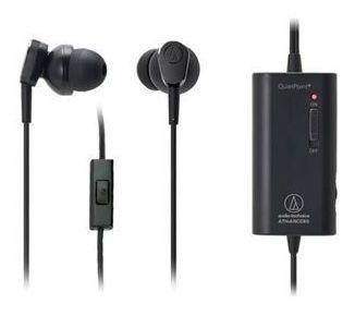 Fone De Ouvido C/ Microfone E Cancelamento De Ruído Audio Technica Ath-anc33is